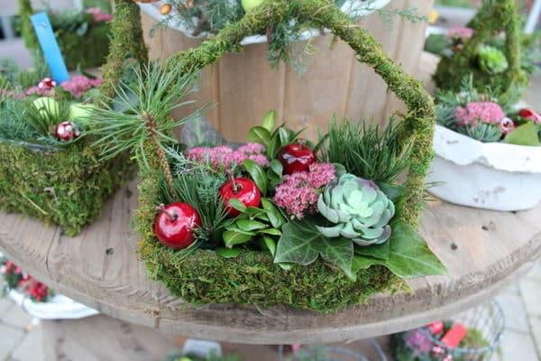 kirkegardspynt julebutik oster skovgard herning