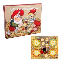 julespil risengrøds spillet med nissen julius spilles som klassisk spejle æg spil