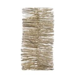 Tyk lametta guirlande juleranke 270 cm., PERLEMOR, Ø7,5 cm – julepynt