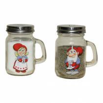 Salz und Pfeffer mit Julius Nissen in kleinen Gläsern mit Deckel