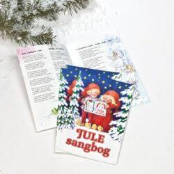 hæfte med populære sange og salmer til juleaften om juletræet