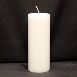 hvid bloklys 7 x 18 centimeter billige stearinlys