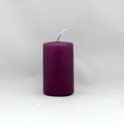 lilla stearinlys til advent i mange størrelser