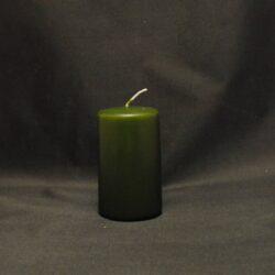 mørkegrøn stearinlys billigt bloklys