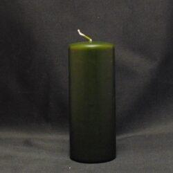 mørkegrøn stearinlys ren stearin
