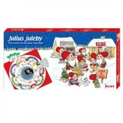 Brettspiele zu Weihnachten mit und über Julius Juleby