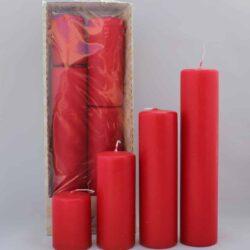 Røde bloklys rød i