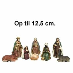krybbespil med 8 flotte religiøse figurer op til 12