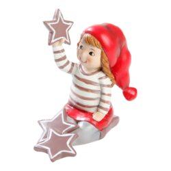 nissefigur apoteker nissen julie leger med store jule stjerner