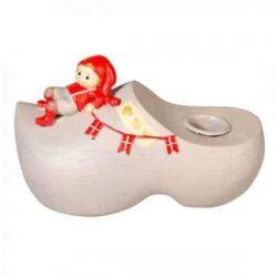 Pixie Figur Apotheken Pixie Peder auf Kerzenhalter für Kerzenlicht