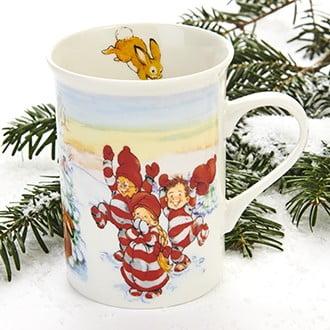 krus til jul med babynissers om motiv
