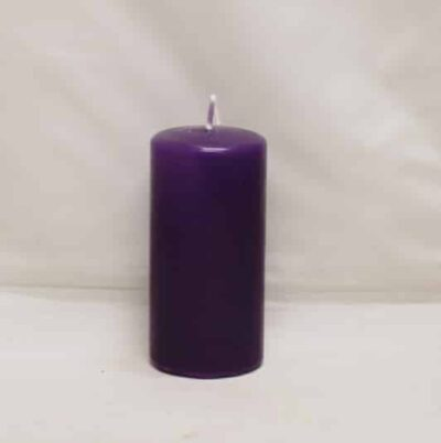 advents lilla stearinlys til adventskranse