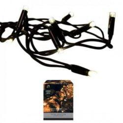 Verlängerung für Lichtkette für Weihnachtsbaum und als Weihnachtsdekoration 90 LED-Diodenleuchten für Strom