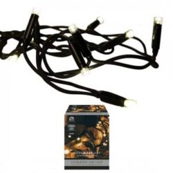 Lichtkette für Weihnachtsbaum und als Weihnachtsdekoration 100 LED-Diodenlichter für Strom