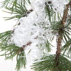fehår englehår hvid til juletræ og juledekorationer